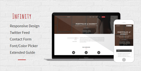 Infinity - Multipurpose Responsive Blogger Template