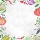 Vegetarian Food Frame - GraphicRiver Item for Sale