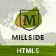 Millside - Golf and Sport Website template - ThemeForest Item for Sale