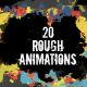 20 Rough Animations - VideoHive Item for Sale