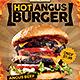 Hamburger Advertise v2 Flyer - GraphicRiver Item for Sale