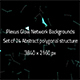 Plexus Glow Network Backgrounds  - GraphicRiver Item for Sale