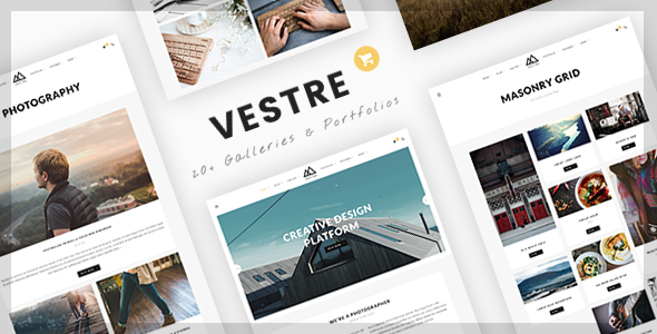 Vestre | Creative Photography & Portfolio WordPress Theme
