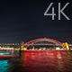 Sydney Harbour Bridge Colorful Lights 2 - VideoHive Item for Sale