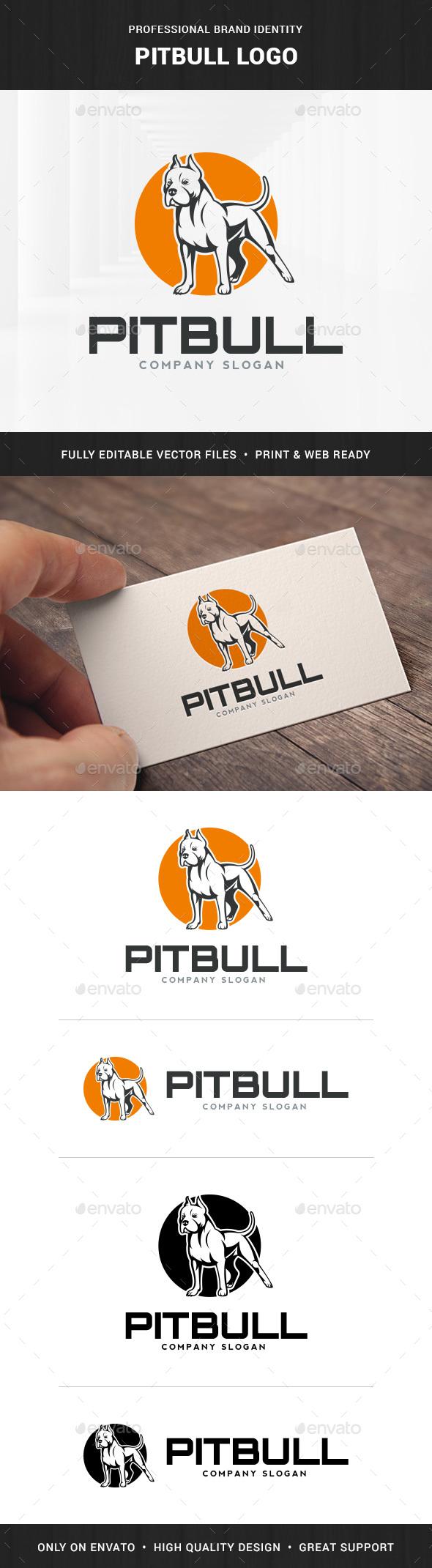 Pitbull Logo Template
