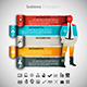 4 in 1 Business Infographics Bundle - GraphicRiver Item for Sale