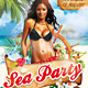 Sea Party Flyer/Poster PSD Template - GraphicRiver Item for Sale