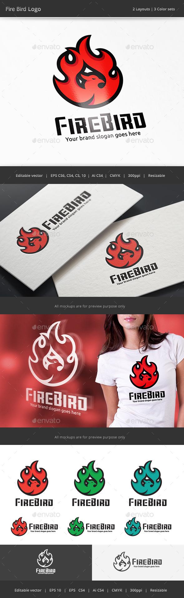 Fire Bird Logo V2