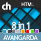 Avangarda - 8 in 1 Profesional Business-Portfolio - ThemeForest Item for Sale