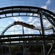 Rollercoaster Train is Moving Along the Loop - VideoHive Item for Sale