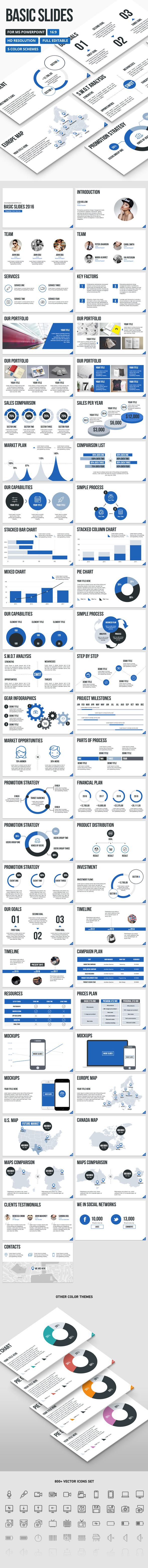 Basic Slides - PowerPoint Presentation Template