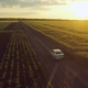 Car Closing Scene On The Rural Road - VideoHive Item for Sale
