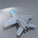Lowpoly F-18 Hornet - 3DOcean Item for Sale