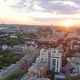 Eastern Europe Sunset Cityscape - VideoHive Item for Sale