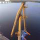River Cargo Harbor Cranes - VideoHive Item for Sale