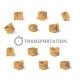 Carton Box Transport - GraphicRiver Item for Sale