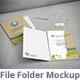 File Folder Mockup - GraphicRiver Item for Sale