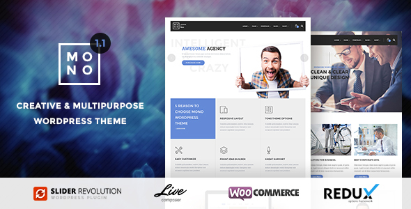 Mono - Creative Multipurpose WordPress Theme 20