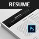 Job resume templates  - GraphicRiver Item for Sale