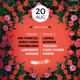 Summer Flower Festival Flyer / Poster - GraphicRiver Item for Sale