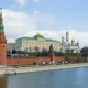 Beautiful Views Of The Kremlin Embankment And The Ancient Moscow Kremlin - VideoHive Item for Sale
