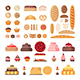 Set of Bakery Elements - GraphicRiver Item for Sale