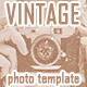 Vintage Old Photo Template - GraphicRiver Item for Sale