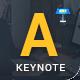 Auden - Creative Keynote Pitch Deck - GraphicRiver Item for Sale