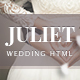 Juliet - Ultimate Ceremony & Wedding HTML5 template - ThemeForest Item for Sale