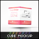 Promotional Cube Display Mockup - GraphicRiver Item for Sale