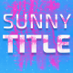 Sunny Titles - VideoHive Item for Sale