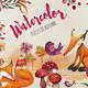 Watercolor Set - Pieces of Autumn - GraphicRiver Item for Sale