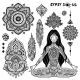 Set Of Ornamental Bohemian Symbols - GraphicRiver Item for Sale
