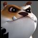 Cartoony Bulldog - 3DOcean Item for Sale
