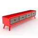 Bench 4 Drawers - 3DOcean Item for Sale
