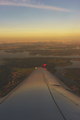 aerial view from the window of a passenger airliner in flight - PhotoDune Item for Sale