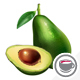 Avocado On White Background - GraphicRiver Item for Sale