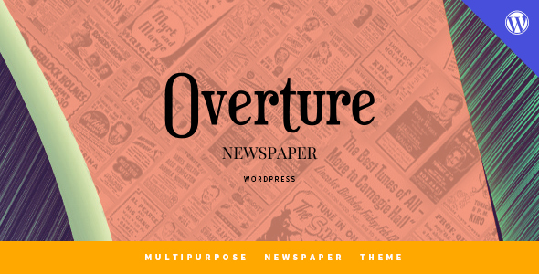 Overture - WordPress Magazine News Theme