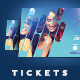 Event Tickets Template 23 - GraphicRiver Item for Sale