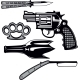 Street Crime Tools Set - GraphicRiver Item for Sale