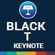 Black T Keynote Presentation Templat - GraphicRiver Item for Sale