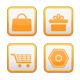 19 Orange & Gray Ecommerce / Web Store Elements - GraphicRiver Item for Sale