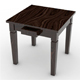 Mini Dining Table 2 Drawer - 3DOcean Item for Sale