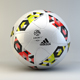 Adidas France Ligue 1 2016/2017 Official Match Ball - 3DOcean Item for Sale