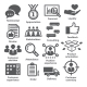 Business Management Icons. Pack 26. - GraphicRiver Item for Sale