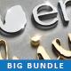 95 Photoshop Text Styles & Mockups Bundle 4 - GraphicRiver Item for Sale