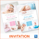 Christening / Baptism Invitation - GraphicRiver Item for Sale