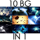 Inspirational Space Asteroids Backgrounds Pack - VideoHive Item for Sale