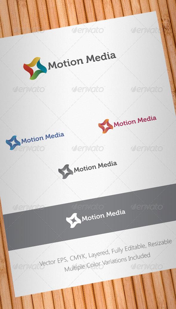 Motion Media Logo Template