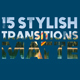 15 Stylish Transitions Matte - VideoHive Item for Sale